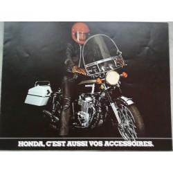 HONDA (catalogue accessoires 31 / 03 / 1974)