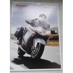 Kawasaki 1400 GTR de 2008 (catalogue neuf)