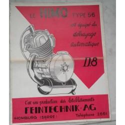 Moteur HIMO type 56 (prospectus occasion)
