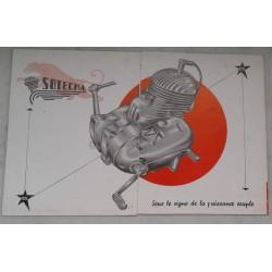 SOTECMA moteur 125 et 175cc (prospectus occasion)
