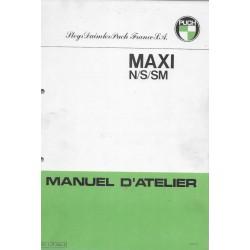 PUCH Maxi N / S / SM (manuel atelier)