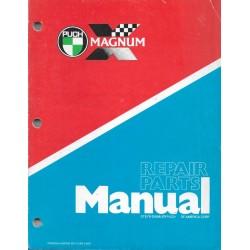 PUCH Magnum (manuel atelier / catalogue pièces en anglais)