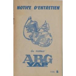ABG VAP Type B (notice entretien originale)