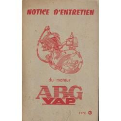 ABG VAP Type G (notice entretien originale)