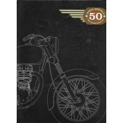 ENFIELD BULLET 500 (Catalogue gamme cinquantenaire)