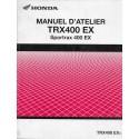 HONDA TRX 400 EX Sportrax de 2003 (Manuel atelier 11 / 02)