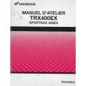 HONDA TRX 400 EX Sportrax de 2005 (Manuel atelier 10 / 04)
