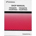 HONDA TRX 250 TM /TE de 2001 - 2002 (Manuel additif 02 / 02)