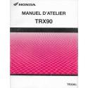 HONDA TRX 90 de 2003 (Manuel atelier 07 / 2002)