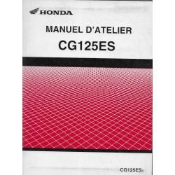 HONDA CG 125 ES de 2004 (Manuel atelier 06 / 2004)