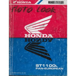 HONDA ST 1100 L PAN-EUROPEAN (manuel atellier 03/1990)