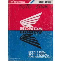 HONDA ST 1100 N PAN-EUROPEAN (manuel atellier 03/1992)