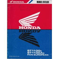 HONDA ST 1100 S / AS PAN-EUROPEAN (Additif 01 / 1995))
