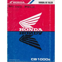 HONDA CB 1000 S (Manuel atelier additif 02 / 1995)