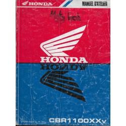 HONDA CBR 1100 XXv de 1997 (manuel atellier 09 /1996)