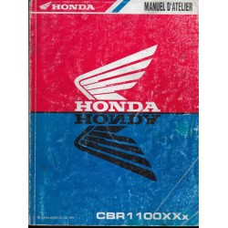 HONDA CBR 1100 XXx de 1999 (manuel atelier 01 /1999)