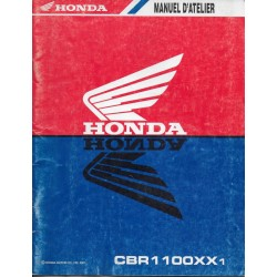 HONDA CBR 1100 XX1 de 2001 (manuel additif 02 /2001)