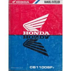 HONDA CBR 1100 SFy de 2000 (manuel atelier 08 /1999)