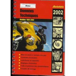 AUTODATA 1989 / 2002 (données techniques motos)