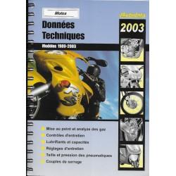 AUTODATA 1989 / 2003 (données techniques motos)