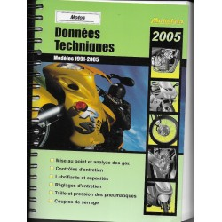 AUTODATA 1991 / 2005 (données techniques motos)