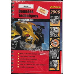 AUTODATA 1992 / 2006 (données techniques motos)