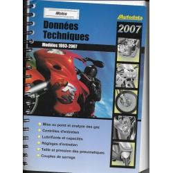 AUTODATA 1993 / 2007 (données techniques motos)