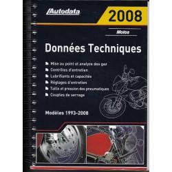 AUTODATA 1993 / 2008 (données techniques motos)