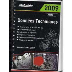 AUTODATA 1994 / 2009 (données techniques motos)