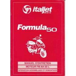ITALJET Formula 50 (manuel atelier moteur FM AH 50 L)