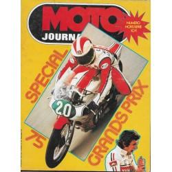 Moto Journal spécial Grands Prix 1975