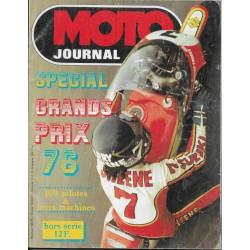 Moto Journal spécial Grands Prix 1976