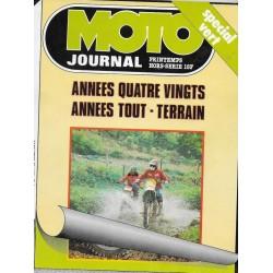 Moto Journal spécial Tout-Terrain 1980