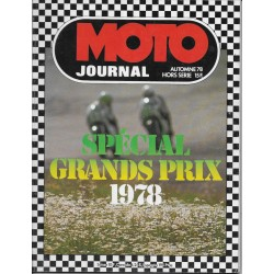 Moto Journal spécial Grands Prix 1978