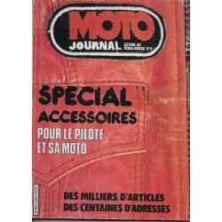Moto Journal Spécial Accessoires Hiver 1980