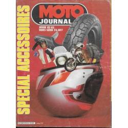 Moto Journal Spécial Accessoires Hiver 1982 / 1983