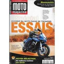 MOTO MAGAZINE Spécial Essais 2002
