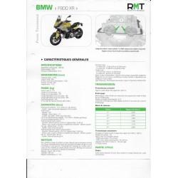 BMW F 900 XR de 2020 (Fiche Revue Moto Technique)