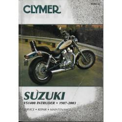 SUZUKI VS 1400 modèles 1987 à 2003 (Manuel atelier 10 / 04)