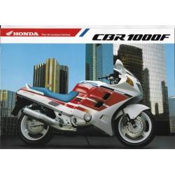 HONDA CBR 1000 F (type SC 25)