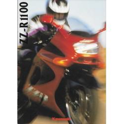 KAWASAKI ZZ-R 1100 (ZX 1100-D1) Catalogue original neuf