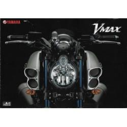 Prospectus original YAMAHA V-Max 1700cc (en japonais)