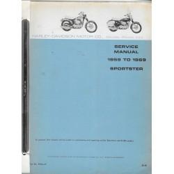 HARLEY DAVIDSON Sporster 883cc (1959 / 1969)