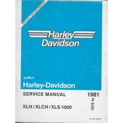 HARLEY DAVIDSON XLH / XLCH / XLS 1000 (1979 à 1981)