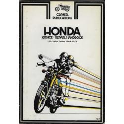HONDA 125 à 350 Twins 1964 - 1971 (manuel CLYMER)