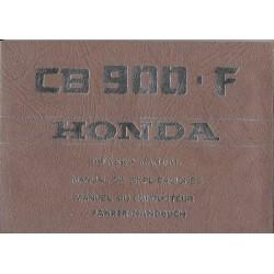 HONDA CB 900 F Bol d'Or (manuel du conducteur 12 / 1978)