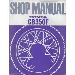 HONDA CB 350 Four (manuel atelier en anglais 1973)