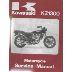 KAWASAKI KZ 1300 (Manuel atelier 04 / 1984)