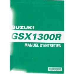 SUZUKI GSX 1300 R (Manuel atelier modèles 1999 à 2006)