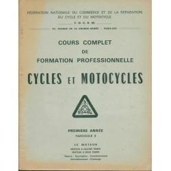 Cours formation cycles et motocycles (1° année) le moteur